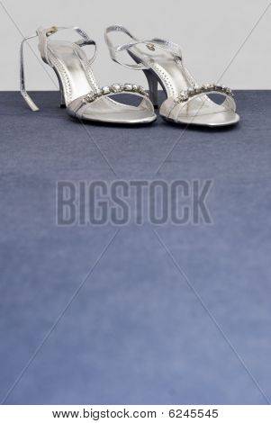 Silver Formal Wedding Shoes