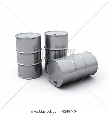 Oil Barrels, 3d