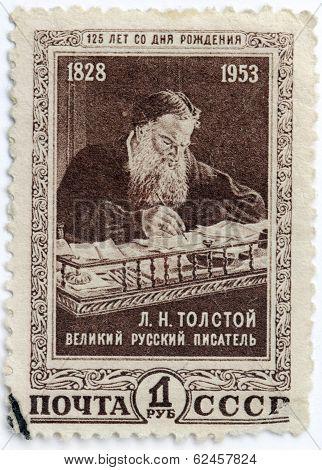 Tolstoy Stamp