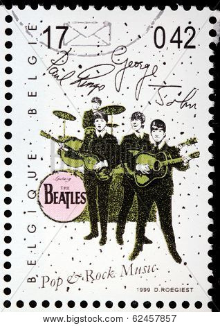 Beatles Stamp