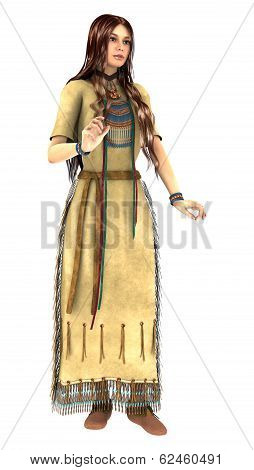 Native American Young Woman