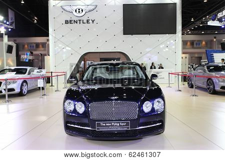 Nonthaburi - March 25: Bentley The New Flying Spur Car On Display At The 35Th Bangkok International