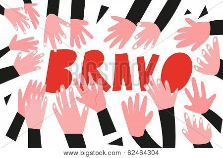 clapping hands,applause - vector illustration