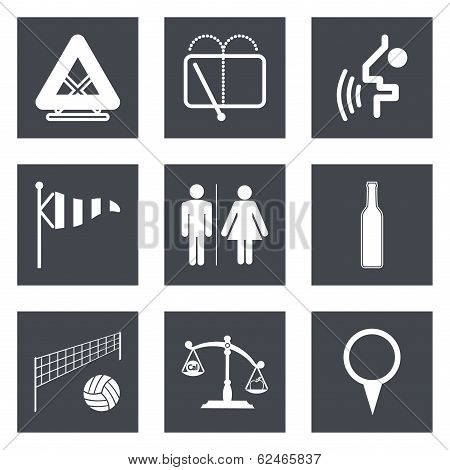 Icons for Web Design set 45