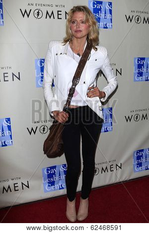 WEST HOLLYWOOD - MAR 15: Estella Warren at An Evening with Women kick-off concert presented by the L.A. Gay & Lesbian Center at The Roxy Theater on March 15, 2014 in West Hollywood, CA
