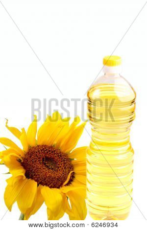 sunflower-seed oil bottle