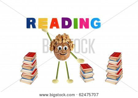 Funny Little Man Of The Walnut Offers Reading Books