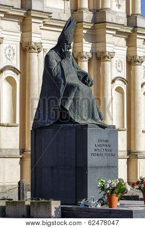 Memorial To Cardinal Primate Stefan Wyszynski