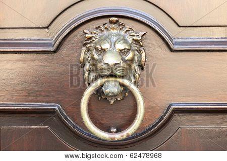Door Knocker Lion