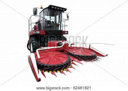 Red Modern Combine