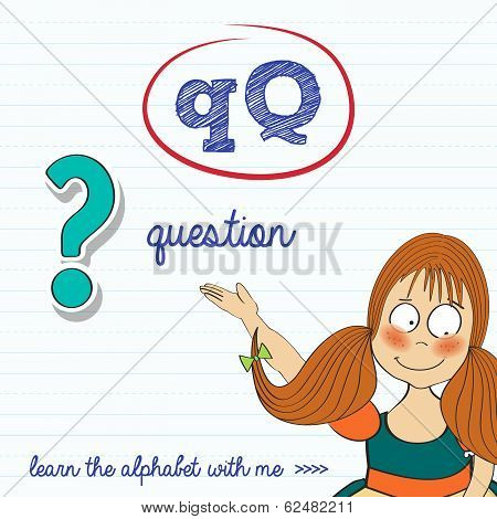 Alphabet Worksheet Of The Letter Q