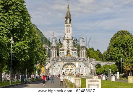 The Basilica Of Our Lady, Lourdes