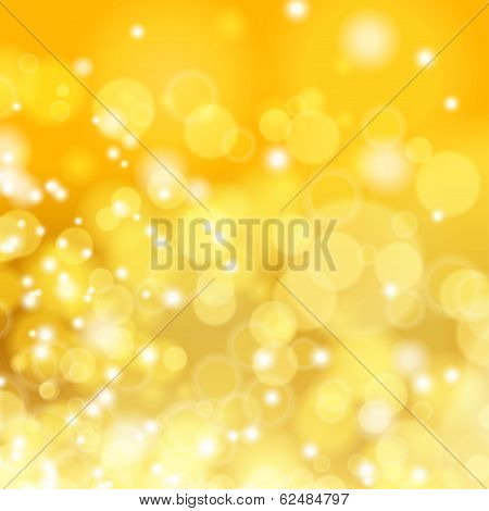 Gold spring or summer background.