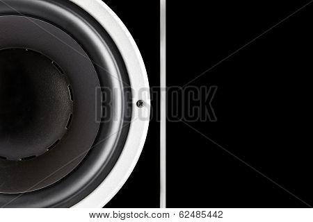 Black Sound Speaker Membrane
