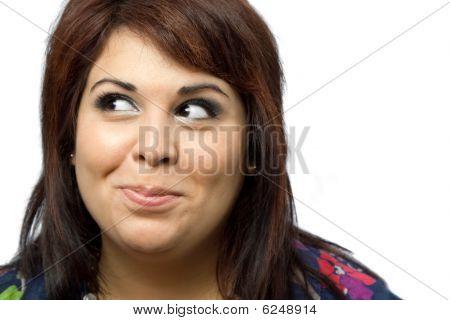 Mischievous Woman