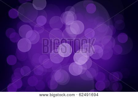 Background - Bokeh Effect - Violet