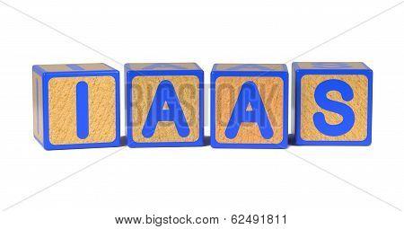 IAAS - Colored Childrens Alphabet Blocks.