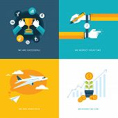 stock photo of respect  - Icons for successful - JPG