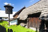stock photo of pigeon loft  - folk museum in Vesely Kopec - JPG