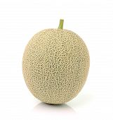 picture of ares  - cantaloupe melon isolated on over white background - JPG