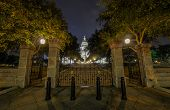 foto of granite dome  - The Texas State Capitol Building in downtown Austin at Night - JPG