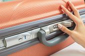 Open Suitcase With Security Code