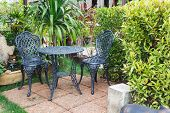 pic of lawn chair  - Garden table and chairs for any use
