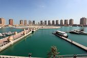 Luxury Marina In Porto Arabia. Doha