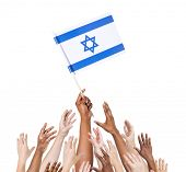stock photo of israeli flag  - Multi - JPG