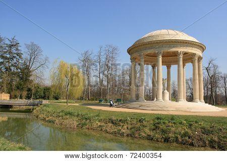 Queen Marie Antoinette's garden in France