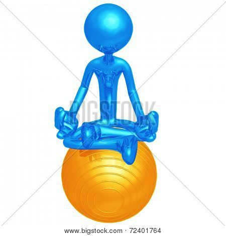 Yoga Pilates Physio Ball