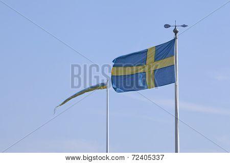 Swedish Standards on flagpoles.