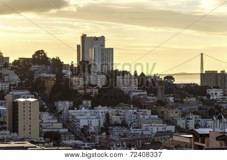 Lombard Street & Golden Gate Bridge, San Francisco