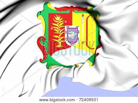 Flag Of Nayarit, Mexico.