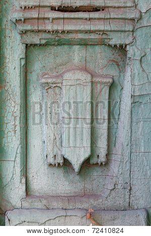 Grunge Door Detail