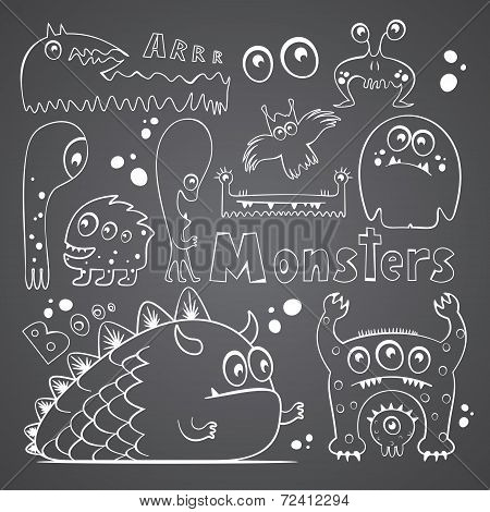 Collection of monsters