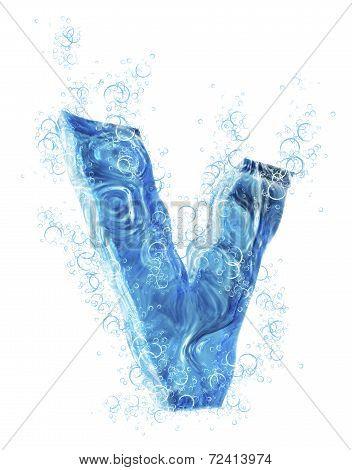 Liquid 3D Letter
