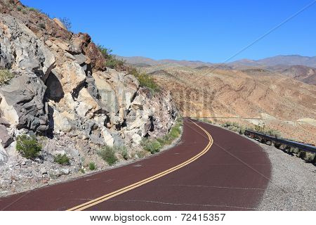 Road In Mojave Desert