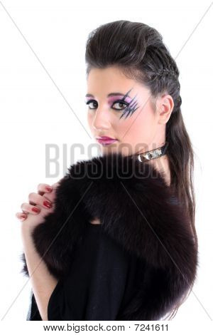 Young Beautiful Model