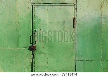 Grunge Metal Door