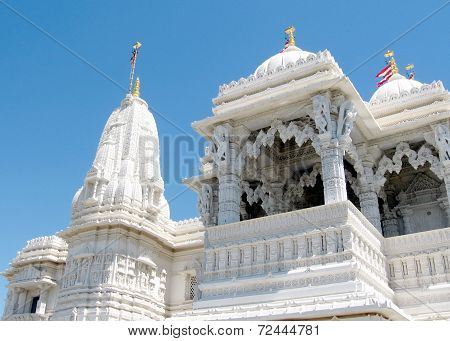 Toronto Mandir Spire And Balconies 2008