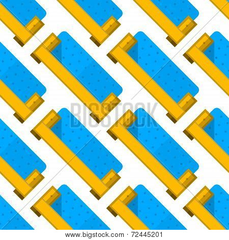 Vector background for furniture. Sofa
