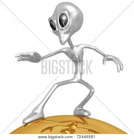 Alien Surfing