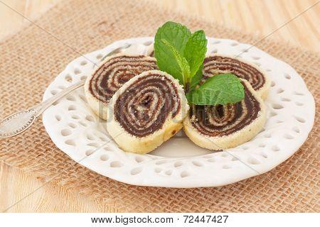 Bolo De Rolo Brazilian Chocolate Dessert