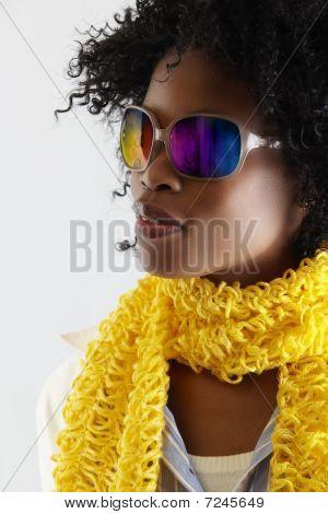 African Disco Woman.