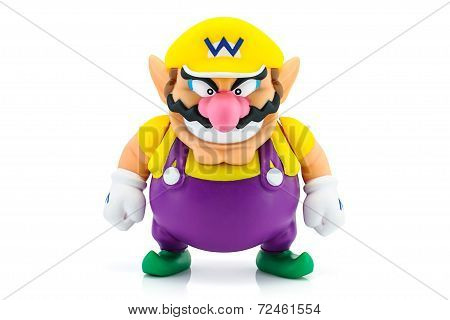 Wario Man Figure Character Toy