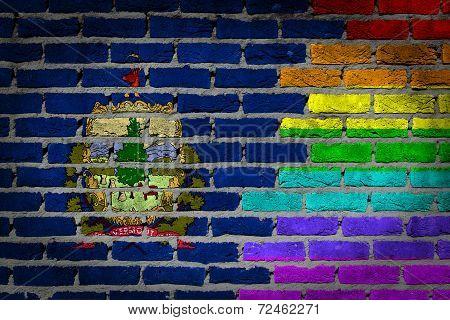 Dark Brick Wall - Lgbt Rights - Vermont