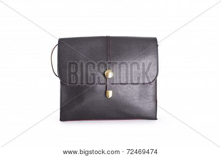 Black bag  isolated on white background