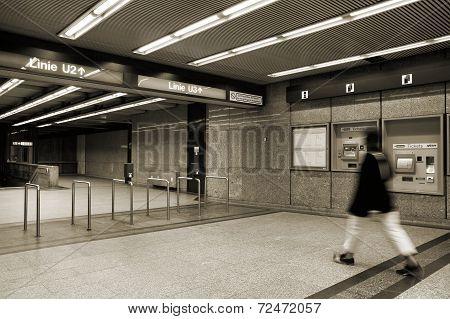 Vienna Metro Station