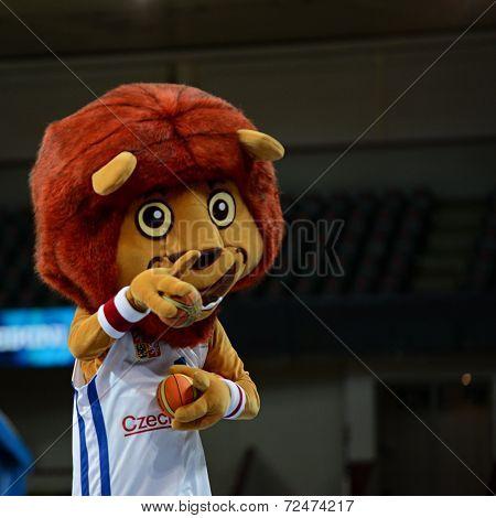 Mascot of Czech national basketball team
